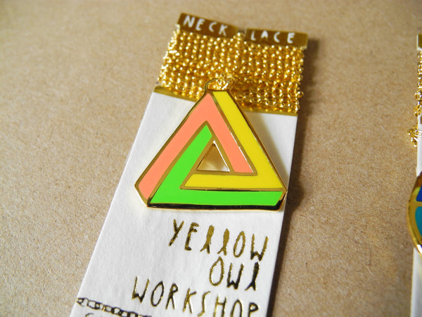 Pendant Necklaces by Yellow Owl Workshop