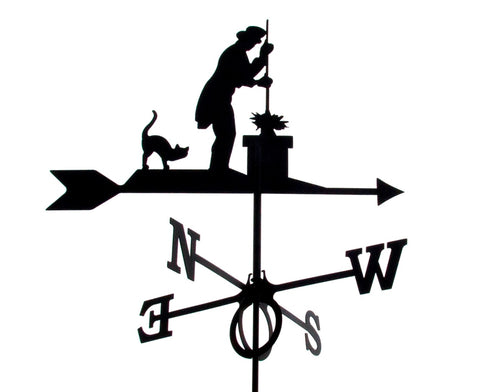 Large Chimney Sweep Design Europa weathervane