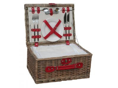 Willow Direct 2 Person Red Chiller Picnic Basket