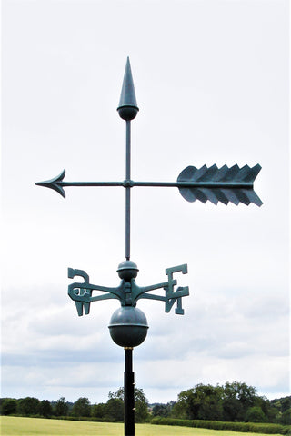 Arrow Verdigris Farmhouse Weathervane
