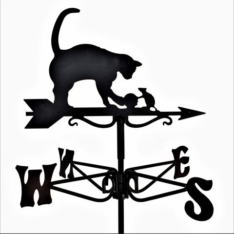 Cat and Mouse Mini Weathervane