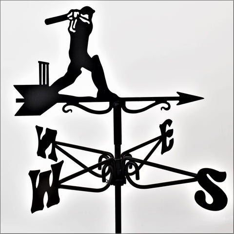 Cricketer Mini Weathervane