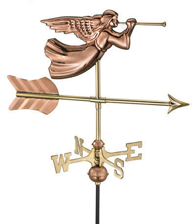 Angel Copper Cottage Weathervane