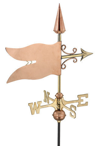 Banner Copper Cottage Weathervane