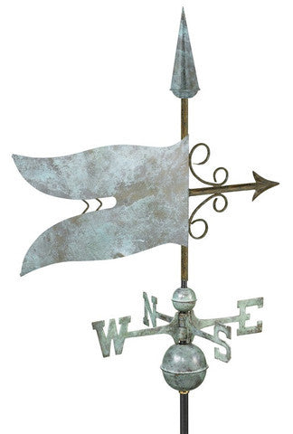 Banner Verdigris Farmhouse Weathervane