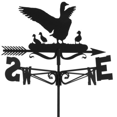 Goose and Goslings Traditional Weathervane