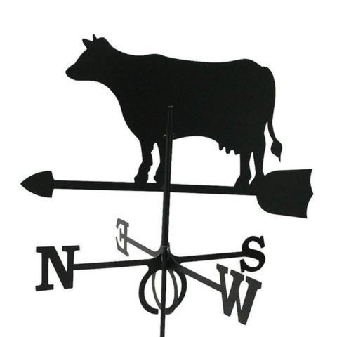 Large Europa Dairy Cow weathervane