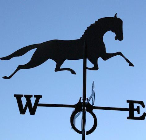 Large Europa Galloping Horse weathervane