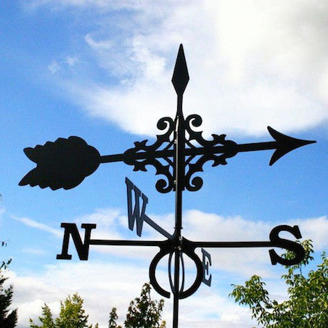 Large Arrow design Europa weathervane