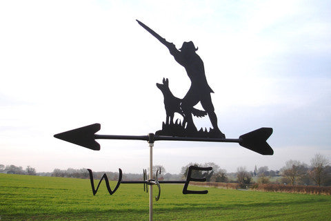 Man with Shotgun Weathervane Diamond Collection