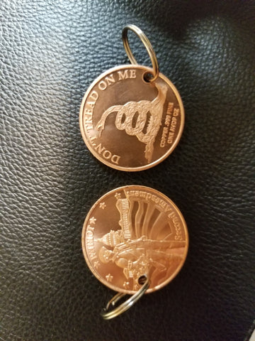 Copper 2nd Amendment coin