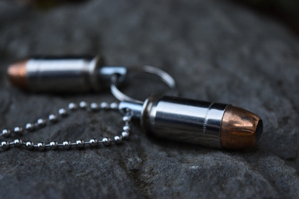 45 Hollow Point Key Chain