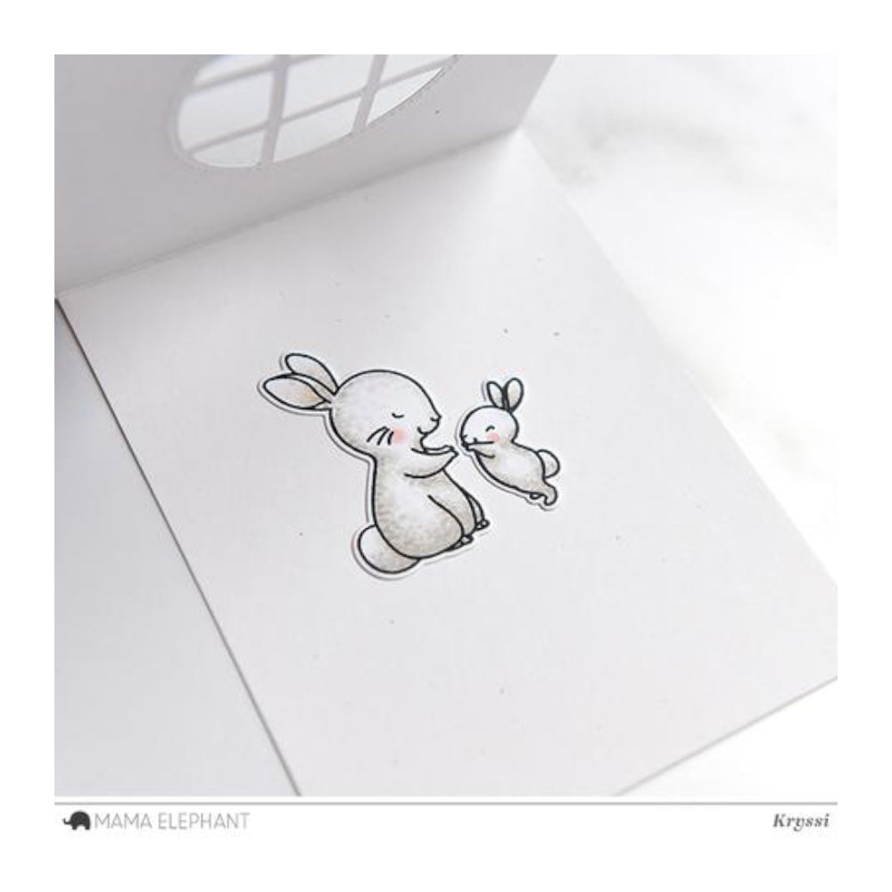 Mama Elephant - Stamp & Die Set - Hippity Hop