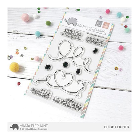 Mama Elephant - Clear Stamp set - Bright Lights