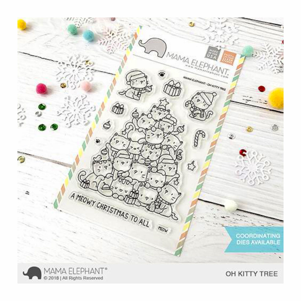 Mama Elephant - Stamp & Die Set - Oh Kitty Tree