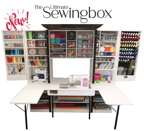 New! The Ultimate Sewing Box (Price excludes Shipping & GST)