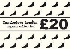 Gift voucher £20 - Turtledovelondon