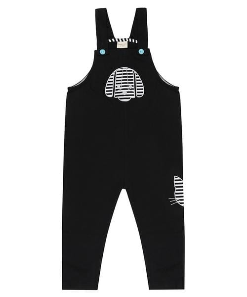 Applique Easy Fit Dungaree