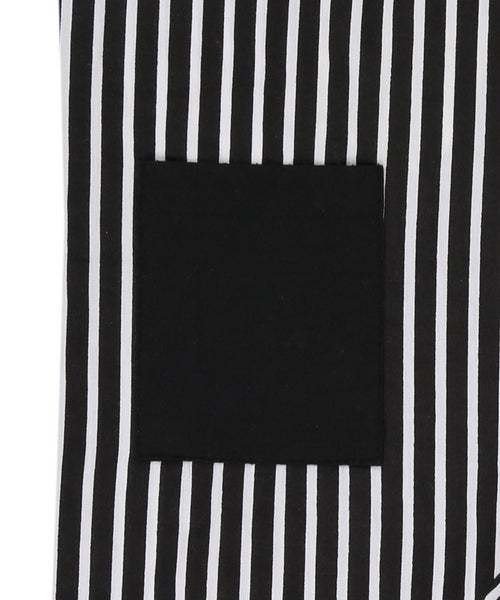 Stripe Woven Dungaree