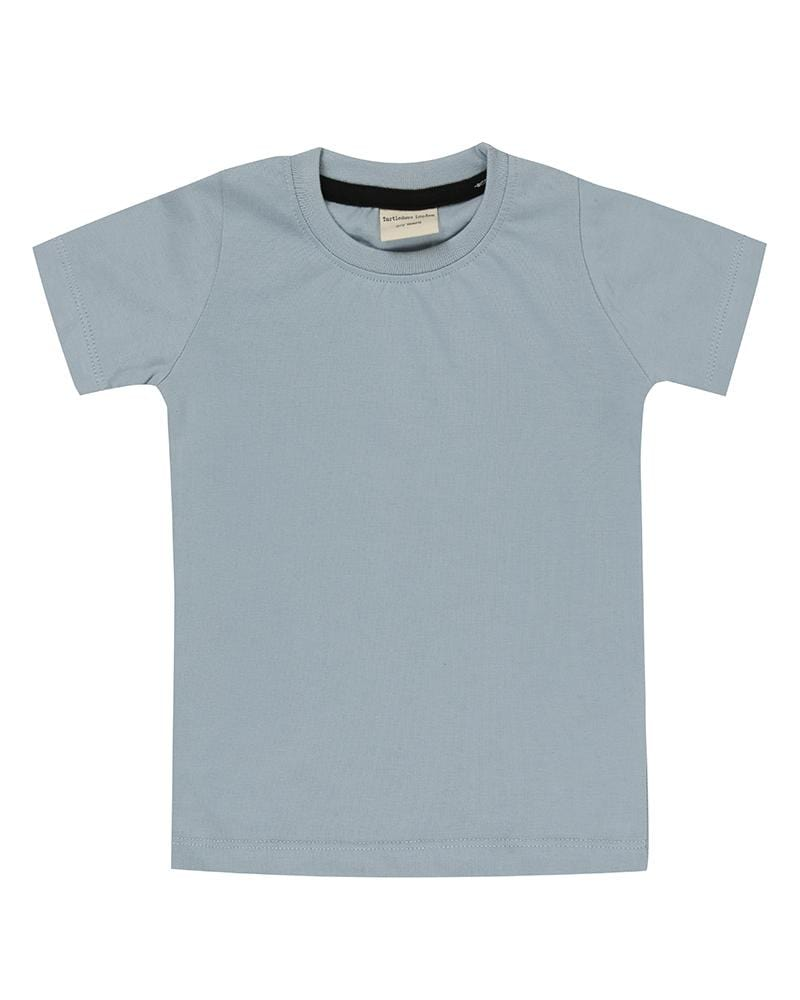 2 Pk Layering Tops S/S - Blue / Grey