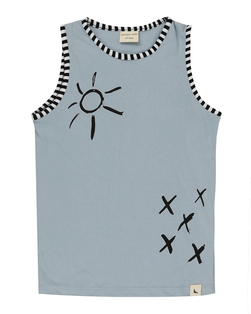 Sunshine Kisses Vest - Turtledovelondon