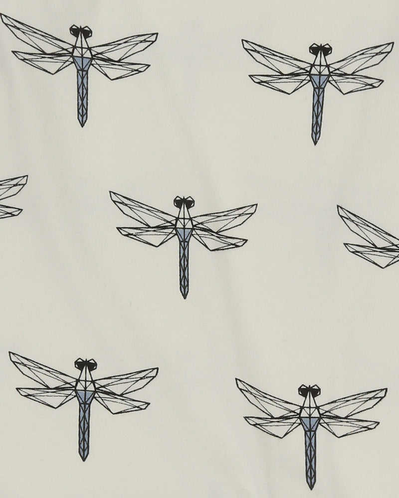 Printed Playsuit Dragonfly Aop
