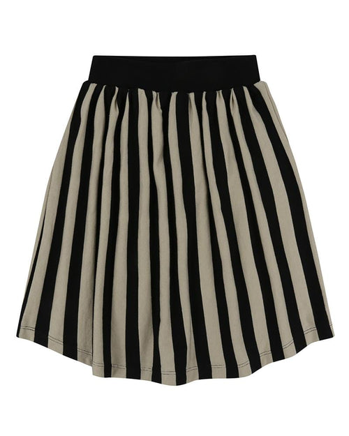 Midi Skirt- Wide Stripe