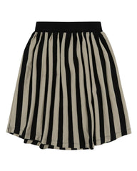 Midi Skirt- Wide Stripe - Turtledovelondon