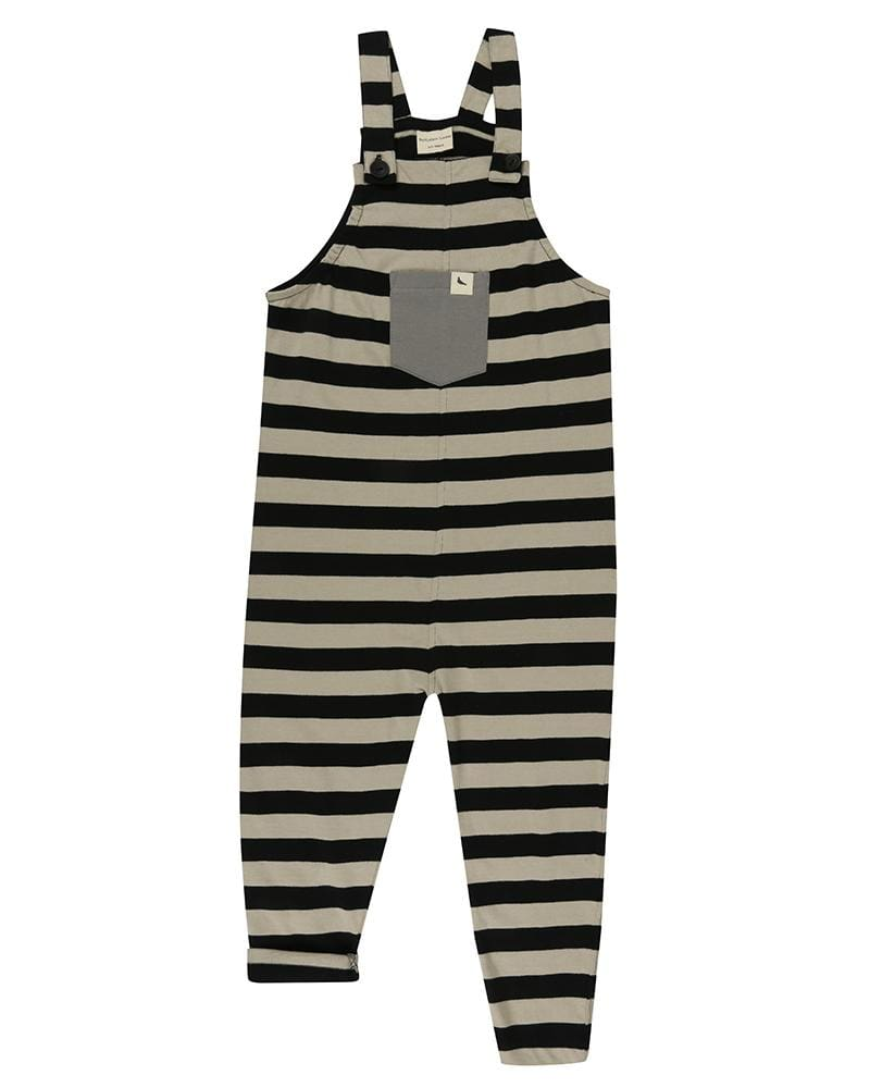 Easy Fit Dungaree- Wide Stripe - Turtledovelondon