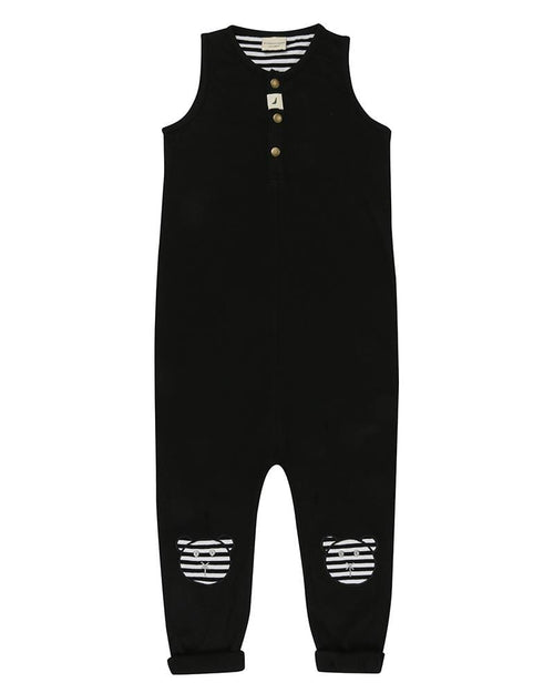 Tank Dungaree- Applique Knees - Turtledovelondon