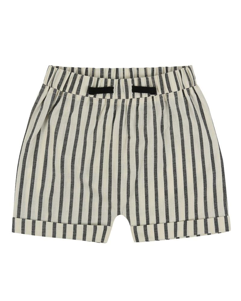 Stripe Woven Shorts - Turtledovelondon