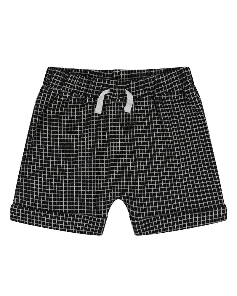 Grid Jersey Shorts