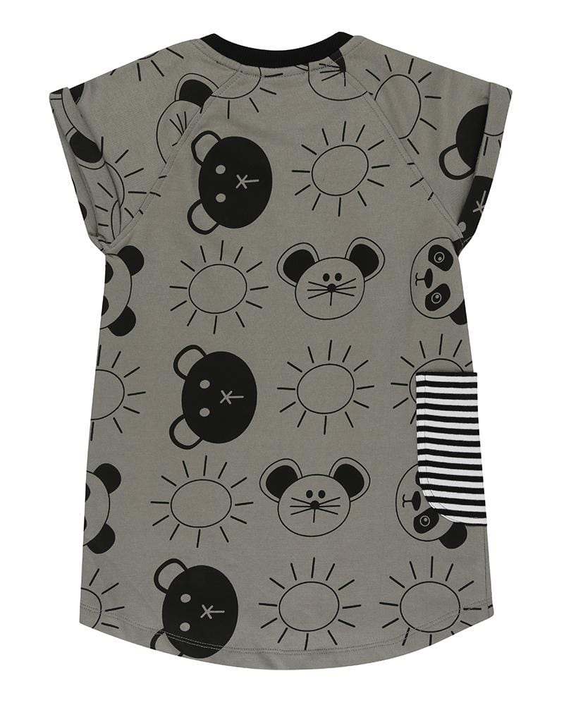 Sweat Shift Dress- Beach Pals - Turtledovelondon
