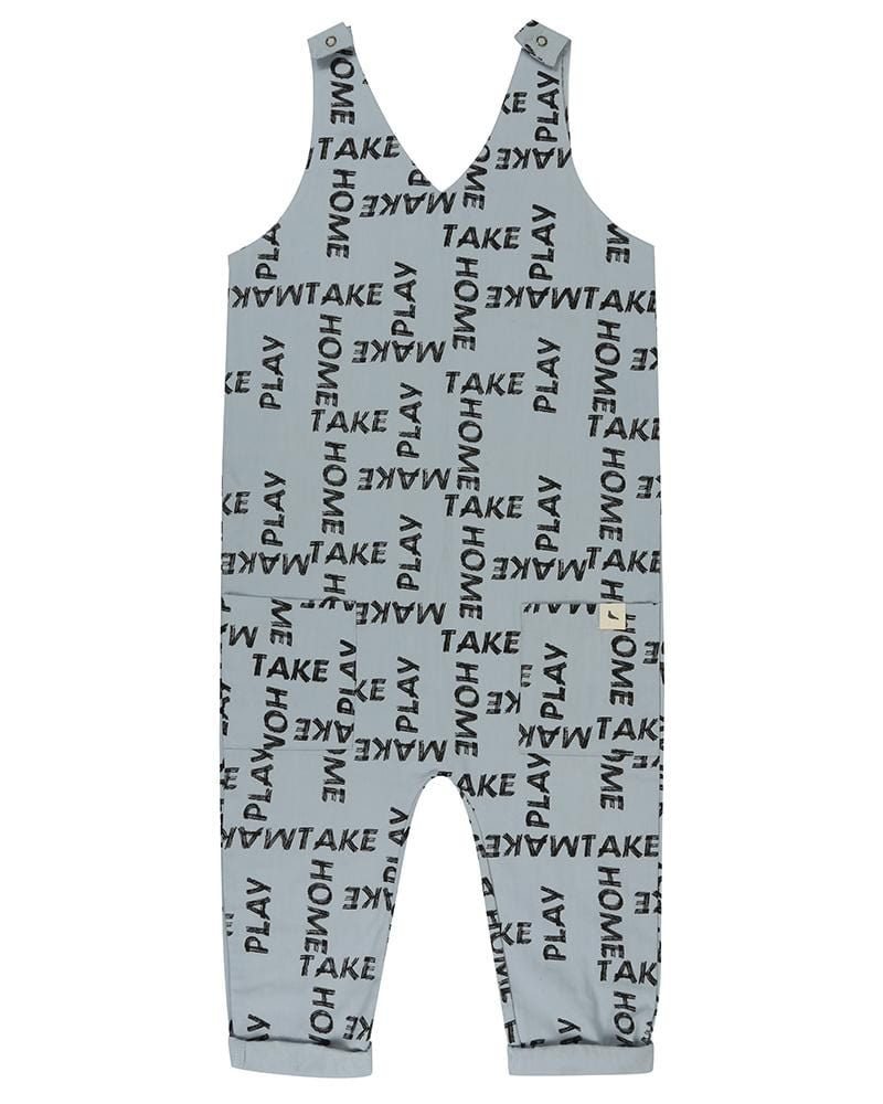 Deep V Dungarees- Woven Words - Turtledovelondon