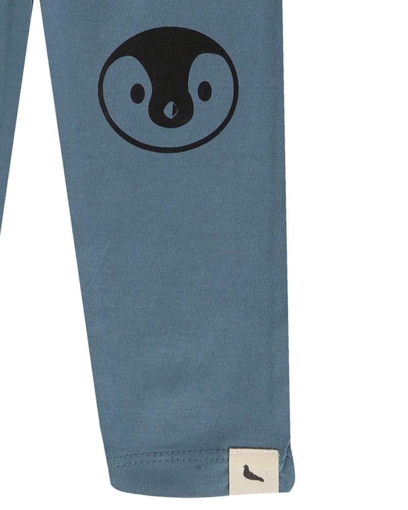 Penguin Knee Slim Fit Leggings - Turtledovelondon
