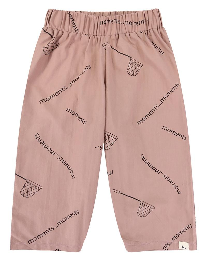 Collect Moments Aop Relaxed Trouser - Turtledovelondon