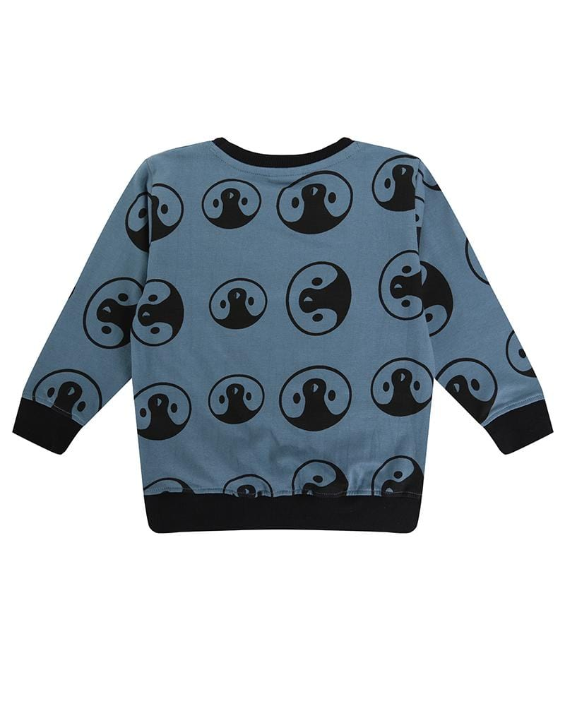 Penguin Aop Sweatshirt - Turtledovelondon