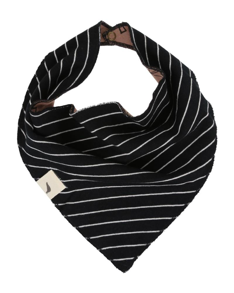 Winter Day/ Stripe Bib - Turtledovelondon
