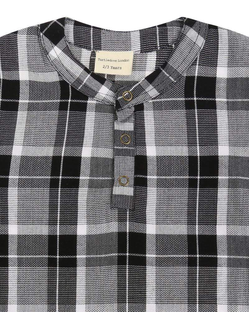 Check Woven Shirt - Turtledovelondon