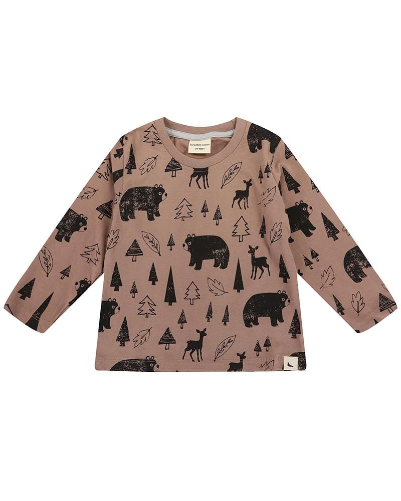 Winter Scenes Printed Aop Top - Turtledovelondon