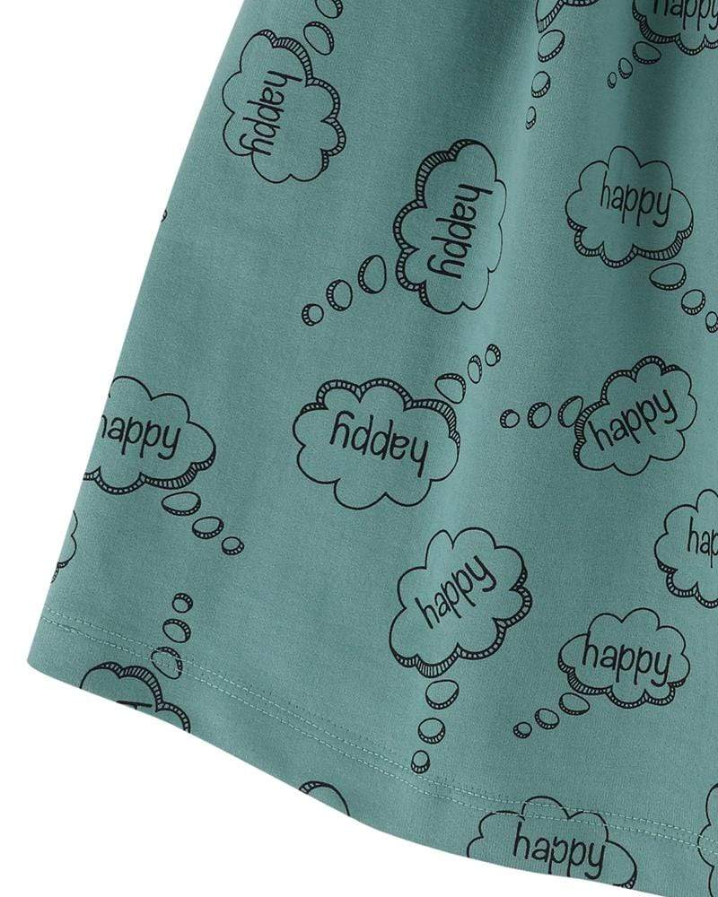 Happy Thoughts Midi Skirt - Turtledovelondon