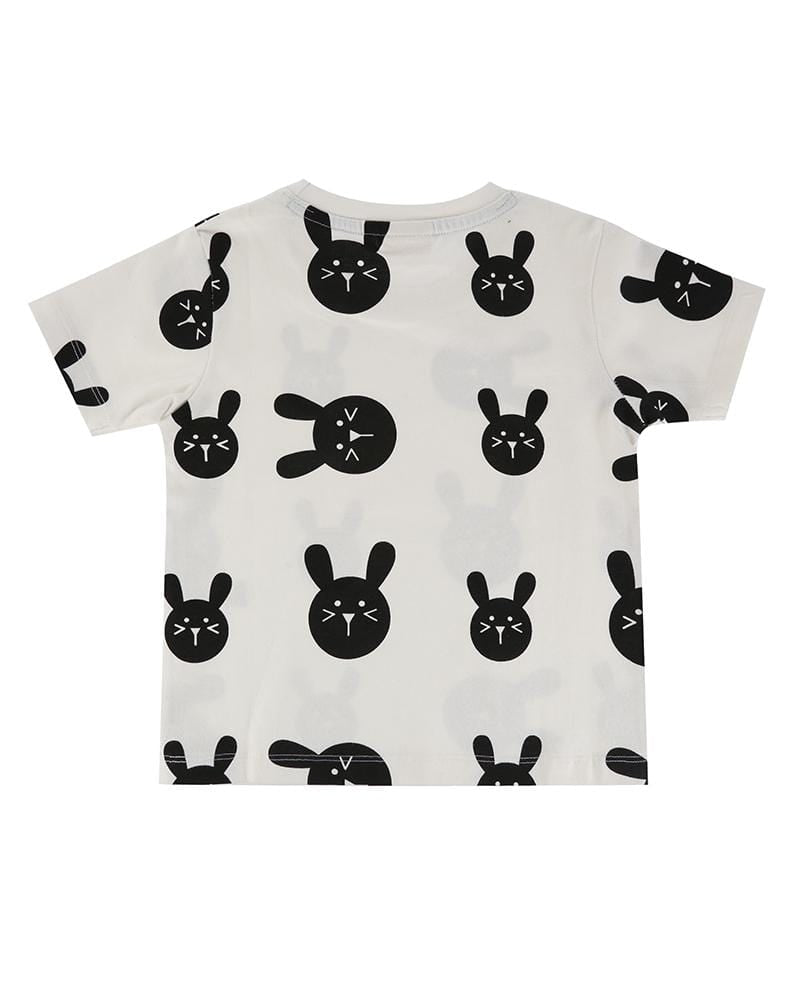 Bunny Print T - Turtledovelondon