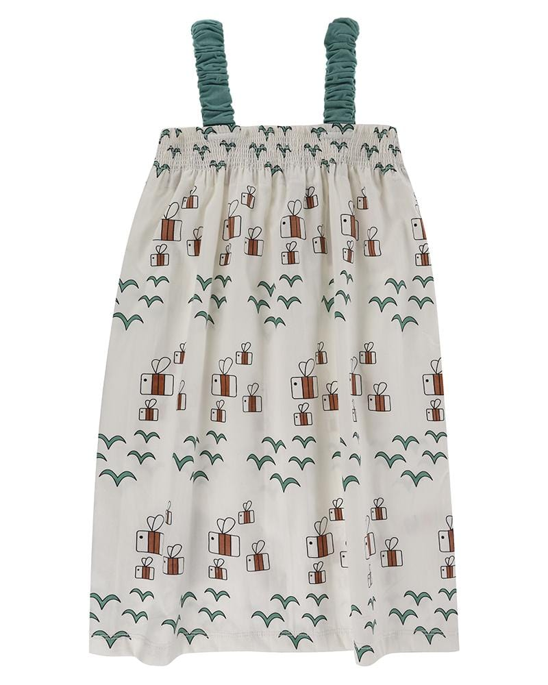 Birds + Bees Midi Dress - Turtledovelondon