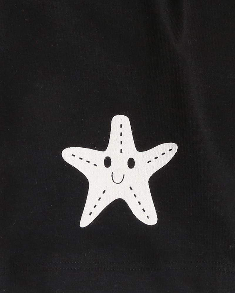 Starfish Knee Harem Shorts - Turtledovelondon
