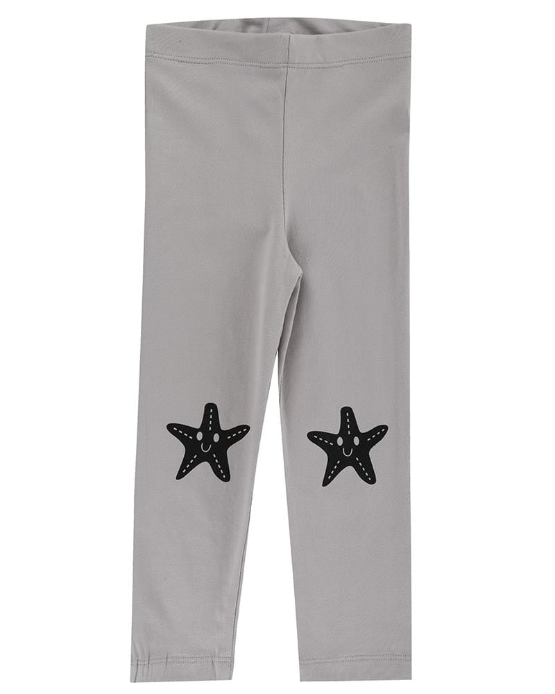 Star Fish Knee Slim Fit Leggings - Turtledovelondon