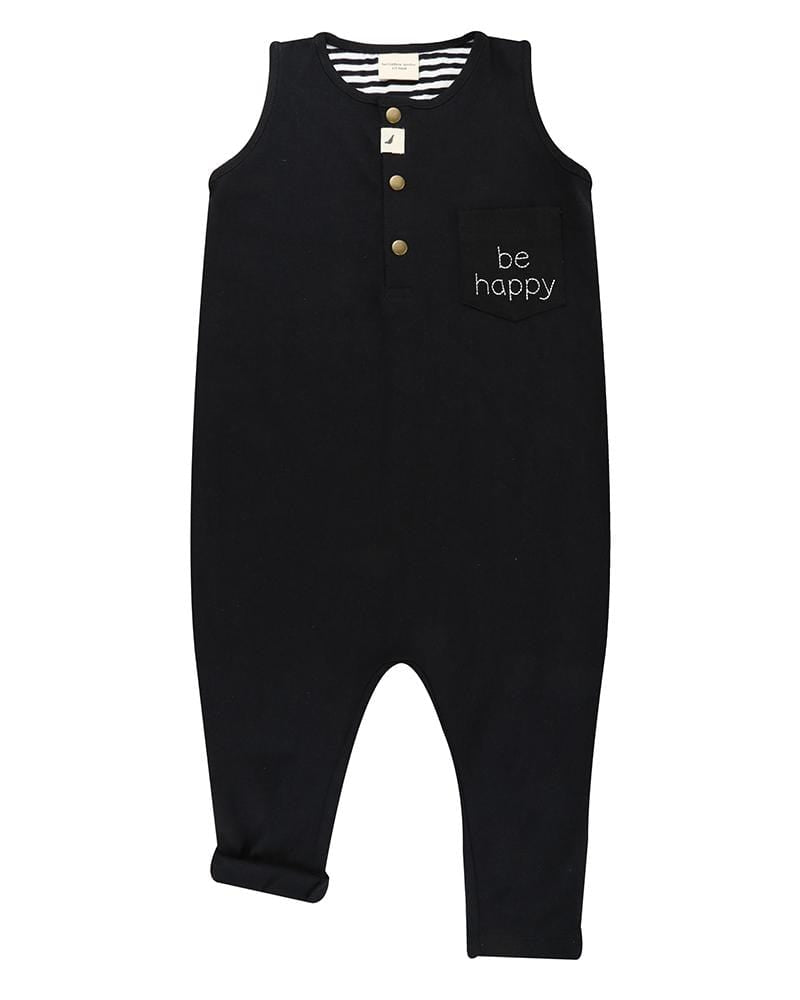 Be Happy Tank Dungaree - Turtledovelondon