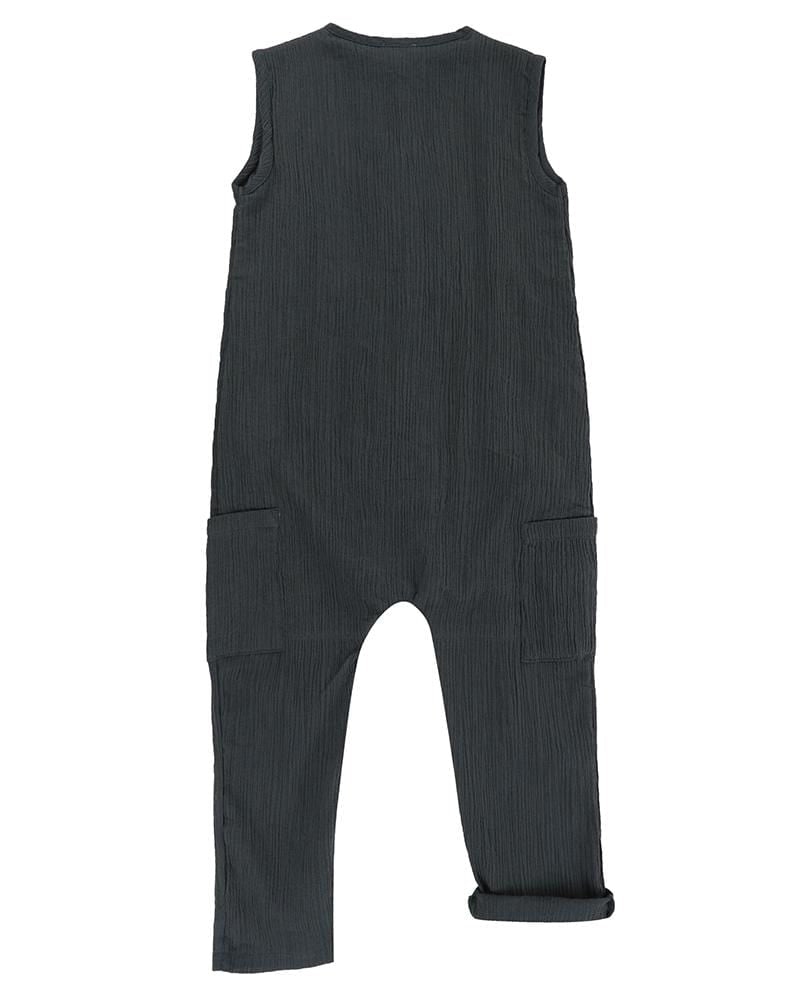 Cheesecloth Tank Dungaree - Turtledovelondon