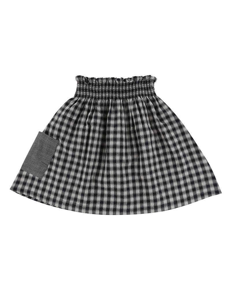 Reversible Check Skirt - Turtledovelondon