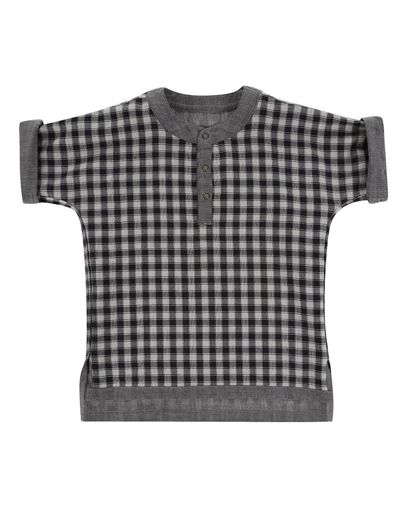 Reversible Check/Chambray Shirt - Turtledovelondon