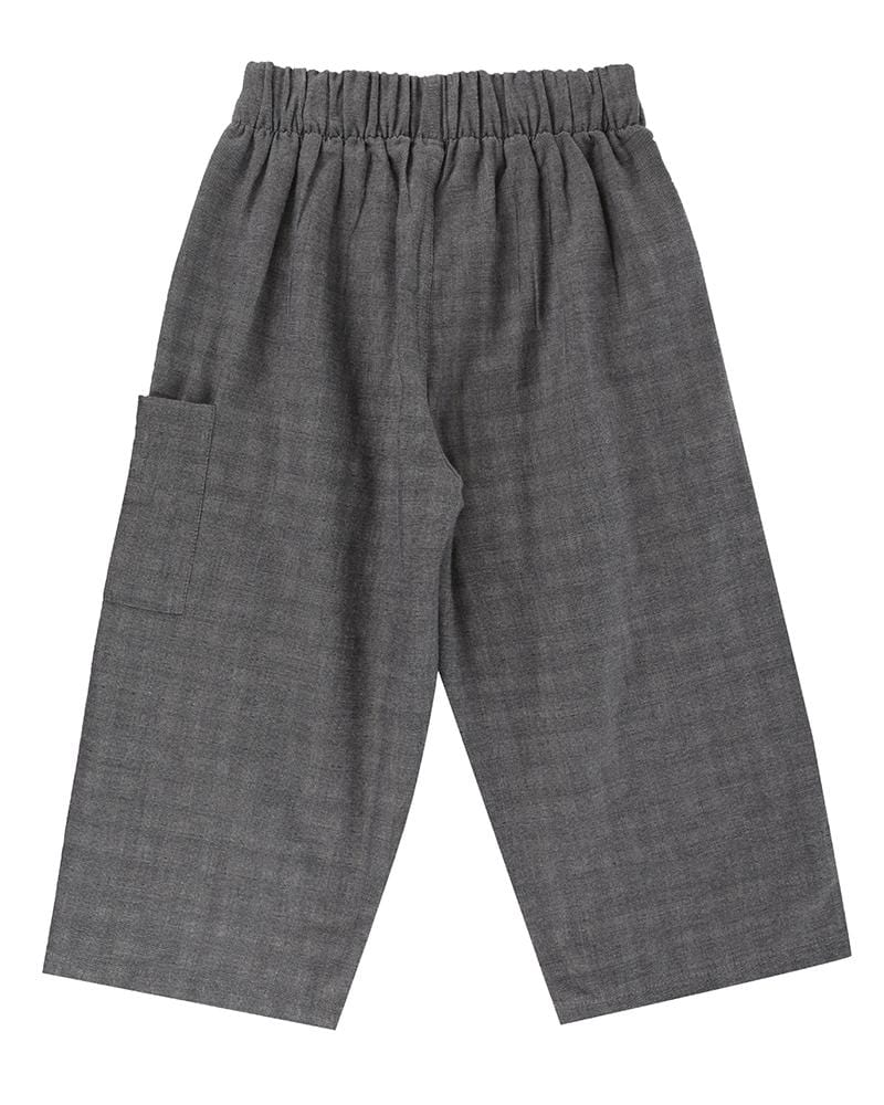 Reversible Check Relaxed Trouser - Turtledovelondon